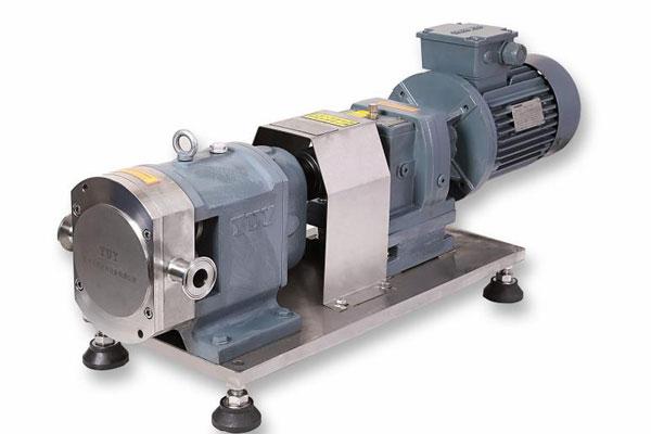 转子泵+齿轮减速机