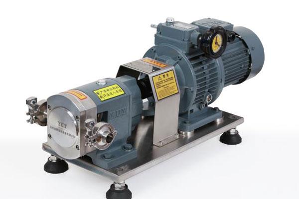 转子泵+普通无极变速型