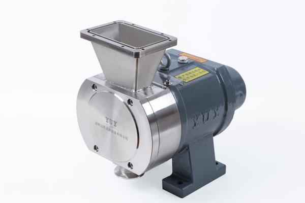 转子泵+V型口进料型